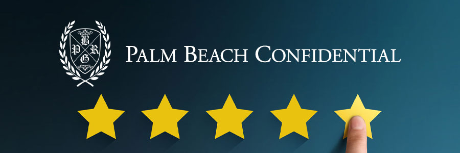 """Palm Beach Confidential"" produktai"